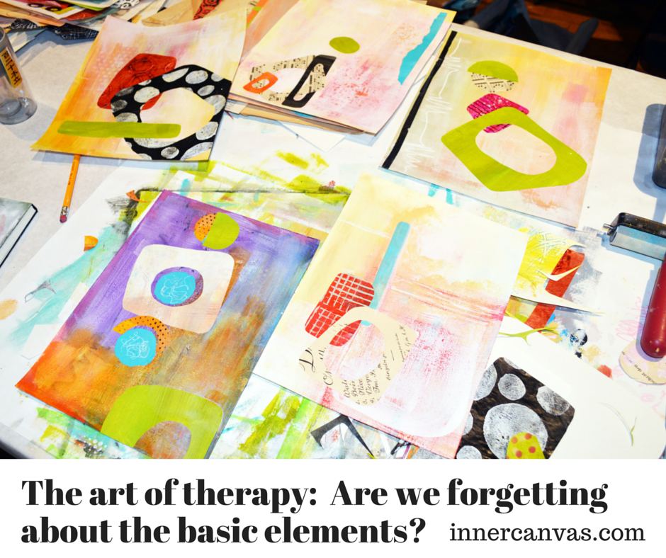 Basic Elements Of Art : The art of therapy are we forgetting about basic