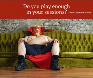 Do you play enough in your sessions? How play and spontaneity can lead to help clients unlock their emotional brain.