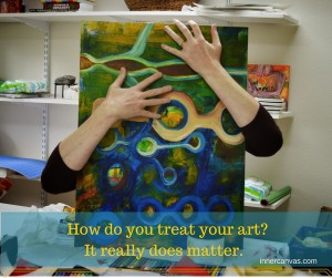 how do you treat your art?